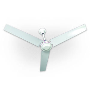 "TPI IHR56R Ceiling Fan, Reversible, White, Metal, 56"", 120 V"