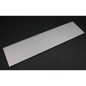 Wiremold ALA-BL Aluminum, Blank Cover Plate, ALA4800 Series, 12'