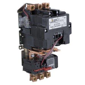 Square D 8536SFO1V02H30S Starter, Size 4, 135A, 600VAC, 120VAC Coil, Non-Reversing, Open, 3P