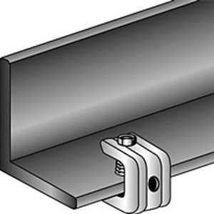 "Minerallac 602 Universal Beam Clamp, 3/4"", Steel"
