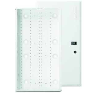 "Leviton 47605-28W 28"" Enclosure, Flush Cover, Series 280, 28""H x 14.3""W x 3.6""D, White"