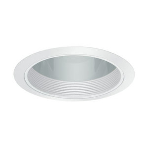 Elite Lighting B702W-CL-WH BAFFLE W/PRISMATIC, Limited Quantities Available