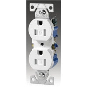 Eaton Wiring Devices TR270B Duplex Receptacle, 15A, 125V, Brown, 5-15R