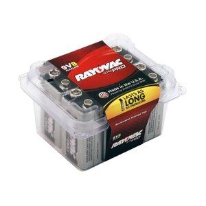 Rayovac AL9V-8F 9V Battery - 8-Pack