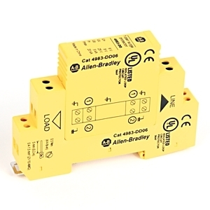 Allen-Bradley 4983-DD06 Surge Protection Device, Dateline UL497B, 6VDC, RS485, RS422