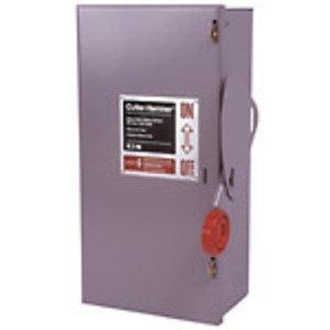Eaton DH461UGK Safety Switch, 30A, 600VAC, 250VDC, 4P, Non-Fusible, NEMA 1