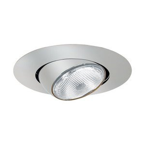 "Elite Lighting B502W-WH Eyeball Trim, 5"", White"