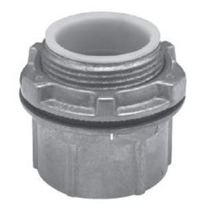 "Cooper Crouse-Hinds CHB9 Conduit Hub, Size: 3-1/2"", Insulated, Gasketed, Zinc"