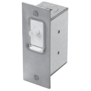 Edwards 502A Door Light Switch, Normally Closed, 120VAC, 6 Amp, Metallic Finish