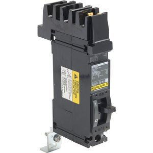 Square D FH16020A Breaker, Molded Case, 1P, 20A, 277VAC, F Frame, A Phase