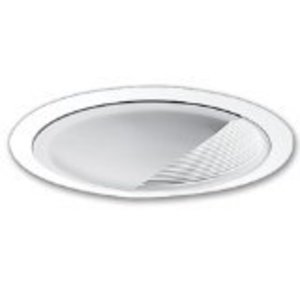 "Halo 425W 6"" Trim Wall Wash White With White Baffle"
