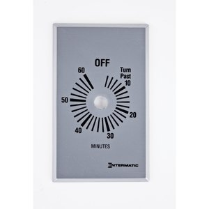Intermatic FF60MP Timer Control Plate, Gray
