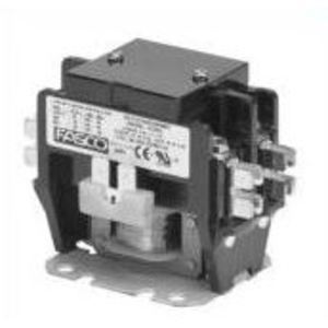 Fasco Motors H230C Contactor, Definite Purpose, 30A, 2P, 208/240VAC, Coil, 600V Rated