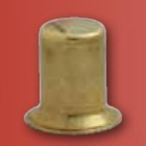 "Westinghouse Lighting 1635500 Shade Finial, Brass, 1/2"""