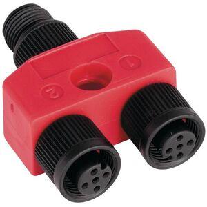Allen-Bradley 1485P-RDR5 Splitter, 2 Female, Micro 5 Pin, to 1 Micro Male 5 Pin, Tap Style