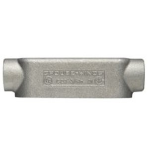"Cooper Crouse-Hinds 590 Conduit Body Cover, 1-1/2"", Aluminum, Mark 9"