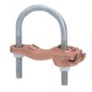 """Burndy GAR3905 Ground Connector / Water Pipe Clamp, 5"""", 4 AWG - 4/0 AWG"""