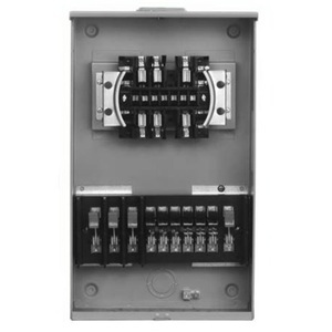 Siemens 9837-0422 Meter Base, Transformer Rated for CT's, 6 Terminal, 20A, 1PH, OH/UG
