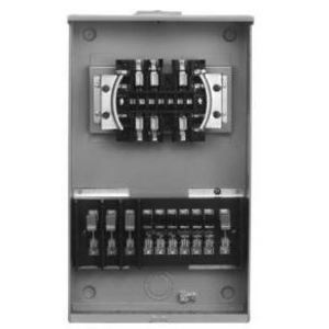 Siemens 9837-0173 Meter Base, Current Transformer, Rated, 20A, 13 Jaw, Type PTS-13