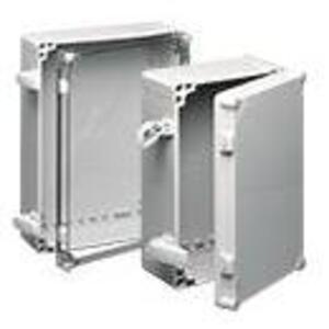 Hoffman Q403018PCIQRCCR Enclosure, NEMA 4X, Clear Screw Cover