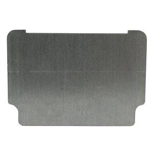 "Steel City DGP Gang Box Partition, 4-1/2"" x 2-1/2"", Steel/Galvanized"