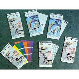Dolphin Components DCWM-3 1-45 WIRE MARKER BOOK