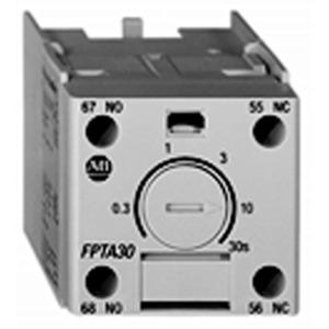 Allen-Bradley 100-FPTB30 Timing Module, Pneumatic, Off-Delay, .3 - 30 Sec. Range
