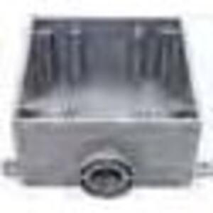 """Bizline 2FSE100 Weatherproof Box, Type FS, Dead-End, 2-Gang, With Lugs, 1"""""""