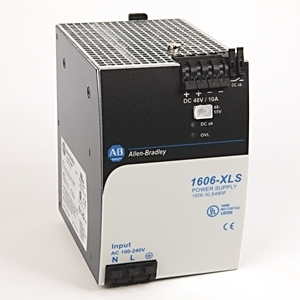 Allen-Bradley 1606-XLS480F Power Supply, 480W, 48 - 56VDC Output, 10A, 200 - 240VAC Input