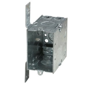 Steel City CXWV 3x2x3-1/2,swbx,stl,18cu,gngble,clamp