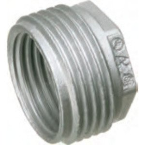 "Arlington 523 Reducing Bushing, Threaded, 1"" x 1/2"", Zinc Die Cast"