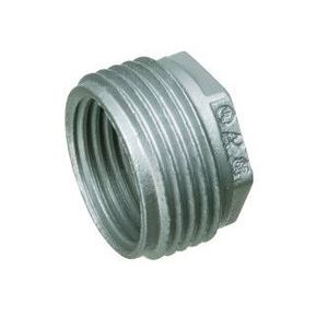 "Arlington 536 Reducing Bushing, 2"" x 1-1/2"", Zinc Die Cast"
