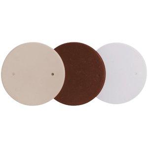 """Thomas & Betts 4062-WHITE 4-1/2"""" Diameter Box Cover, White, Non-Metallic"""