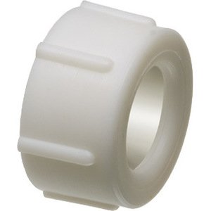 "Arlington RGD50 Conduit Bushing, 1/2"", Press-on, Insulating, Threadless, Non-Metallic"