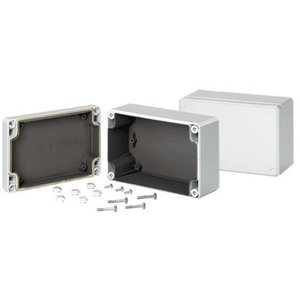 Hoffman Q1286PCEMC Junction Box, NEMA 4X, Screw Cover, 4.72 x 3.15 x 2.17""