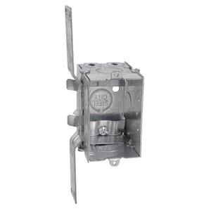 Steel City LXWV-25 3x2x2-1/2,swbx,stl,12.5cu,gngble,ear,clp