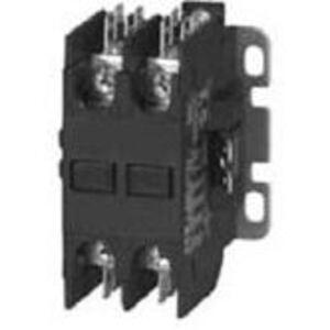 Eaton C25BNB220H Contactor, Definite Purpose, 2P, 20A, 277VAC Coil, 600VAC