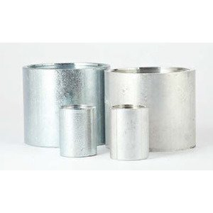 "Multiple ALC350 Rigid Coupling, 3-1/2"", Threaded, Aluminum"