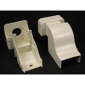 Wiremold PN10F86WH PN10 Raceway Drop Ceiling Connector