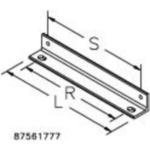 Hoffman LWASK18BLK Wall Angle Support Kit, Black