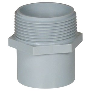 "Carlon E920D 1/2"" PVC Male Terminal Adapter."