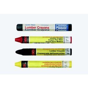 Bizline 66406 Marking Crayon, Red, 1 per Pack