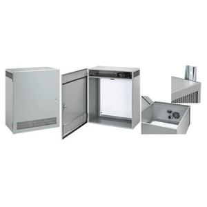 Hoffman T1F80LP Enclosure with Ventilation System, NEMA 1, Hinge Cover