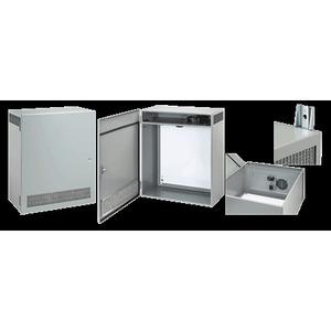 Hoffman T1F80LP Enclosure with Ventilation System, NEMA 1, Hinge Cover