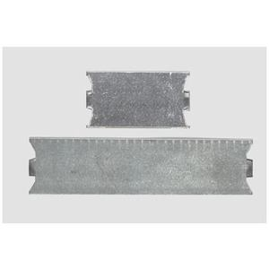 "Bizline SG-6 Stud Guard, 1-1/2"" x 5"", Steel, Nail Sharp Points"