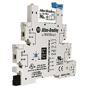 Allen-Bradley 700-HLS2Z24 Terminal Block Relay, 1P, 6A, 24VDC, DC Output