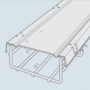 "Cablofil CVN100GC Cable Tray Cover, 4"" x 3.3'"