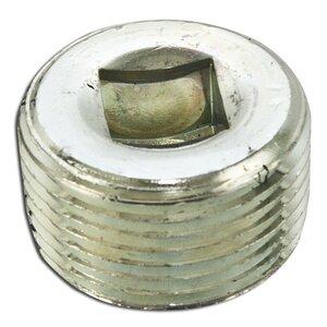 "Appleton PLG100RA Close-Up Plug, Recessed Head, 1"", Explosionproof, Aluminum"