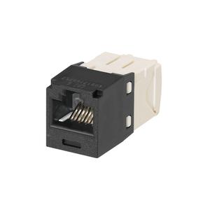 Panduit CJ688TGBL-24 Mini-Com®, Jack, Snap-In, CAT6, Black