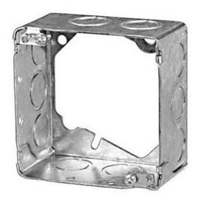 "Steel City 53171-1 4"" Square Extension Ring, 2-1/8"", Welded, Metallic"